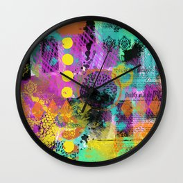 Mixed Grill Wall Clock