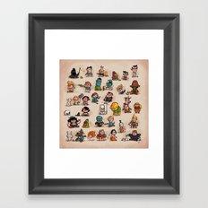Tiny Adventures Framed Art Print