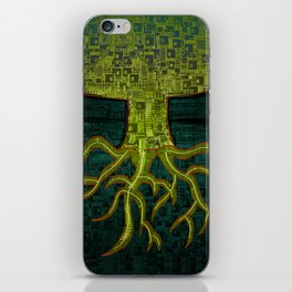 Tree Town - ROOTS iPhone Skin