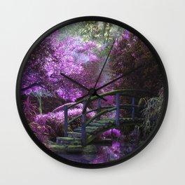 Monet's Garden (Color) Wall Clock