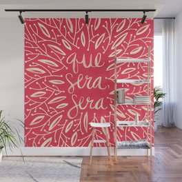 Whatever Will Be, Will Be – Melon Palette Wall Mural
