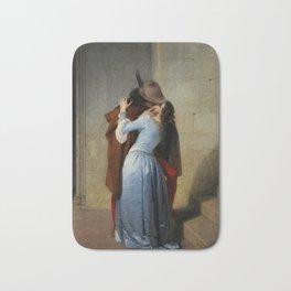 The Kiss (Il Bacio) - Francesco Hayez 1859 Bath Mat