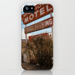 Minn Iowa iPhone Case