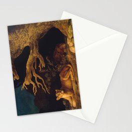 Lion and lioness - George Stubbs - 1771 Stationery Cards