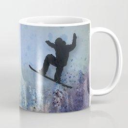 The Snowboarder: Air Coffee Mug