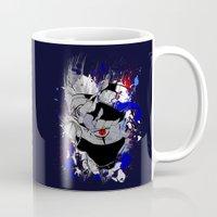 kakashi Mugs featuring Kakashi Eye by feimyconcepts05