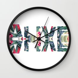 Alive Wall Clock