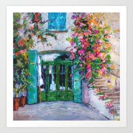 Doorway Cadaques, Spain Art Print