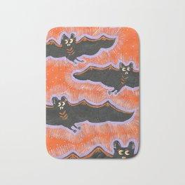 Batty Flight Bath Mat