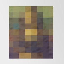 Pixel Art Throw Blanket