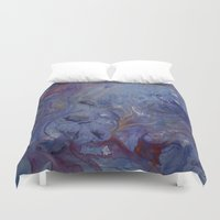 hippo Duvet Covers featuring Hippo by Emily Tucci