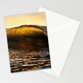 Ocean Waves - Amber Stationery Cards