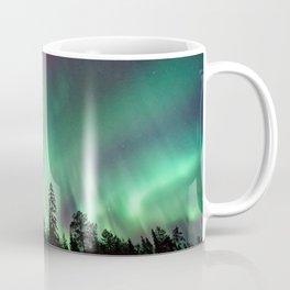 Colorful Northern Lights, Aurora Borealis Coffee Mug
