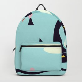 Cartoon Police Car Backpack