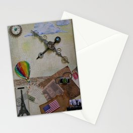 Steampunk Traveler Stationery Cards