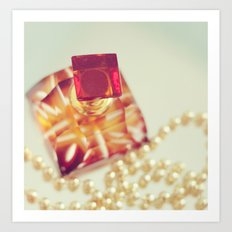 Pearls. Art Print
