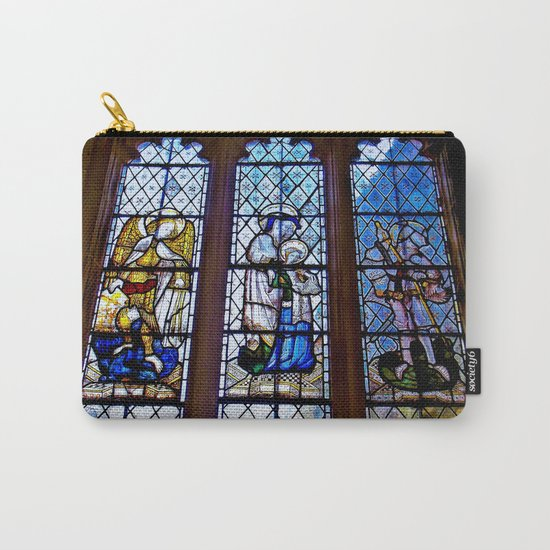 Stained Glass Carry-All Pouch