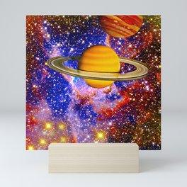 Stars and Planets Mini Art Print