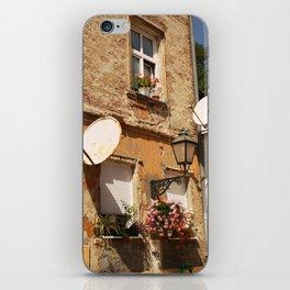 Zagreb, Croatia. War damage. iPhone Skin