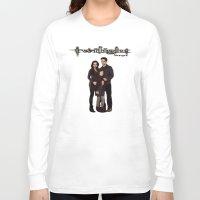 saga Long Sleeve T-shirts featuring Twilight Saga by ezmaya