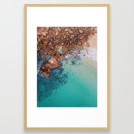 beach #decor #buyart #society6 Framed Art Print