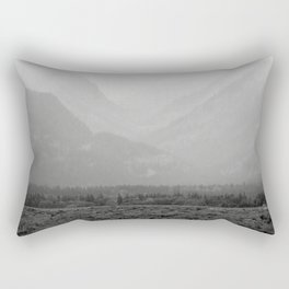 Pass through the Fog Rectangular Pillow
