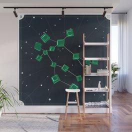 Gemini + May Emeralds Wall Mural