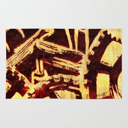 Industrious hell  Rug