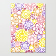 BOLD & BEAUTIFUL summertime Canvas Print