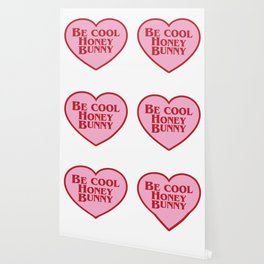 Be Cool Honey Bunny, Funny Movie Quote Wallpaper