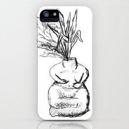 mandrake / neolithic figurine iPhone Case