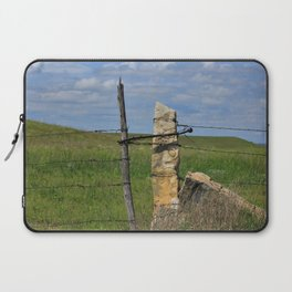 Kansas Limestone Gate Post Laptop Sleeve