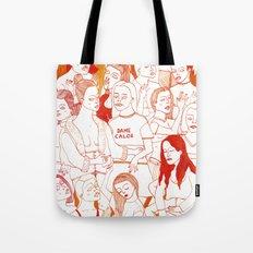 Dame Calor Tote Bag