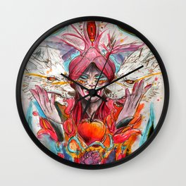 Sweet Red Wall Clock