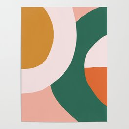 Sunrise Circles Poster