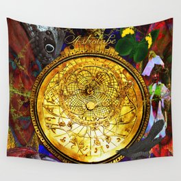 Astrolabe Our Place in the Universe Wall Tapestry