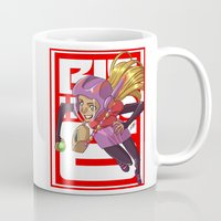 arsenal Mugs featuring Add some honey and lemon by Eisu's Art for sale: Prints and stuff