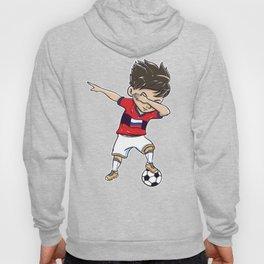 Dabbing Soccer Player Funny Russia Fan graphic boy Hoody