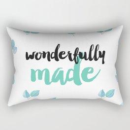 Wonderfully Made Rectangular Pillow