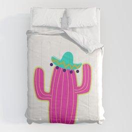 Saguaro Cactus - Pink Comforters