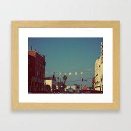 Backwards  Framed Art Print