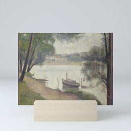 Gray weather, Grande Jatte Mini Art Print