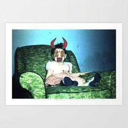 Child. Art Print