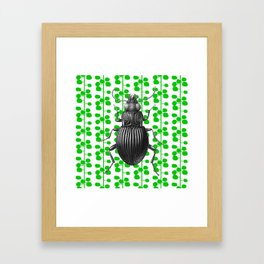 Scandi Bug Framed Art Print
