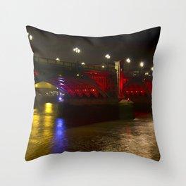 The Southwark Bridge Throw Pillow