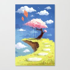 Secret Place Canvas Print