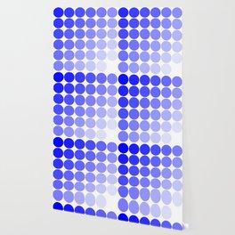 Indigo Circle Color Chart Wallpaper
