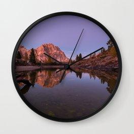 Dolomites 23 - Italy Wall Clock