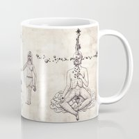 tarot Mugs featuring Tarot: V - The Hierophant by Jæn ∞
