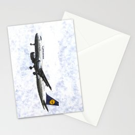 Lufthansa Airbus A320 Art Stationery Cards